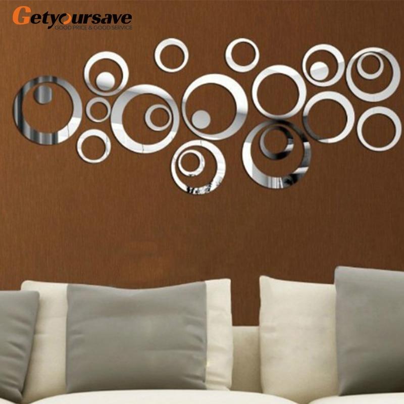 Decoration Mirror Wall Stickers