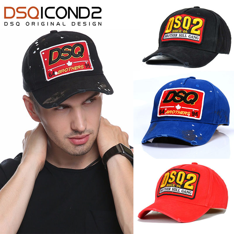 DSQICOND2 Baseball-Caps Snapback Dad-Hats Design High-Quality Women Embroidery Dsq-Letters