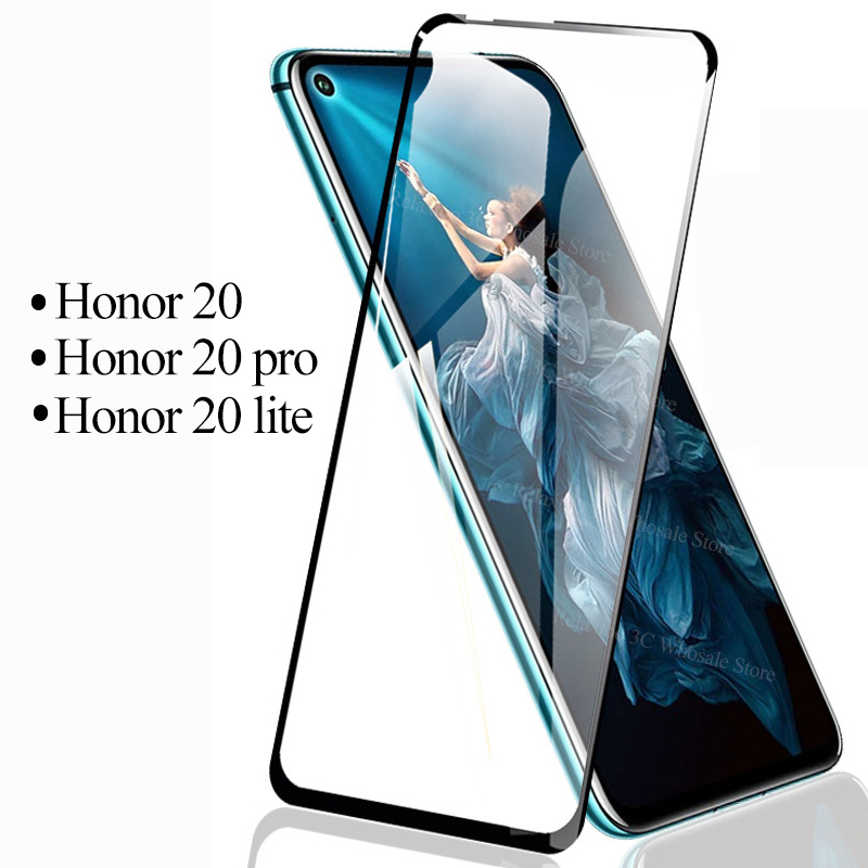 <font><b>3D</b></font> Protective <font><b>glass</b></font> <font><b>honor</b></font> 20 pro <font><b>Glass</b></font> For huawei <font><b>honor</b></font> 20 tempered Glas on honer 20 lite honor20 20pro safety screen protector image