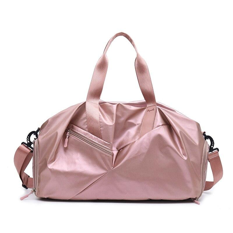 Gym-Bag Compartment Sport Women Shoes Yoga-Pack Fitness-Training-Handbag Travel-Dry Waterproof