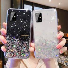 Für Samsung Galaxy A51 SM A515F A515 A516 Fall Bling Glitter Weiche Rückseitige Abdeckung Für Samsung Galaxy A71 A716 A716F EINE 51 71 fällen