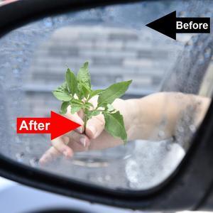 Image 3 - Auto Specchietto retrovisore Accessori Auto Decorazione di Interni Anti Fog Membrana Impermeabile Antipioggia Finestra Pellicola Protettiva 2pcs