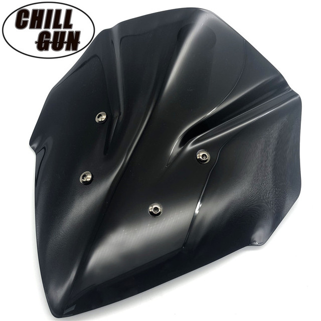 Motorcycle Sport Touring WindScreen Windshield Viser Visor Wind Deflector For NEW YAMAHA MT-15 '18 '19 MT15 MT 15 2018 2019