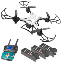 KY601G Intelligent FPV Foldable ABS 4 Channels 4K HD Photography WIFI Drone USB