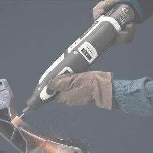 Image 3 - Newone Kit doutils rotatifs, Lithium Ion sans fil 12V, Mini perceuse électrique avec Six vitesses, réglable outil rotatif Dremel portable