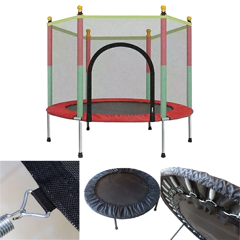 Children's Trampoline Indoor Small Kids Adult Fitness Belt Nets Family Toys Trampoline