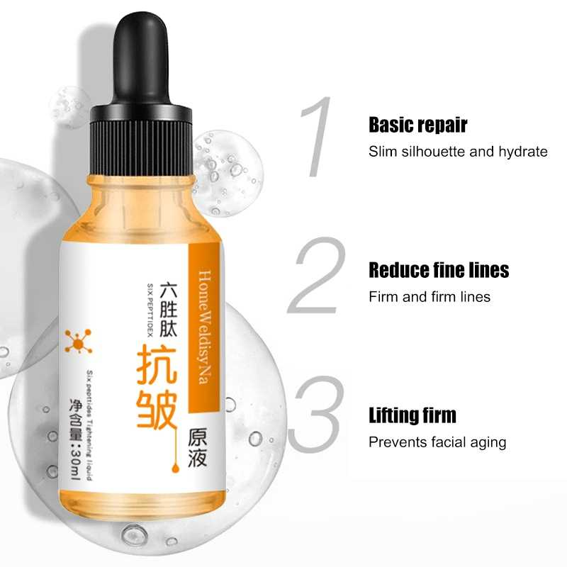 30ml Hexapeptide Anti Wrinkle Solution Lifting Firming Face