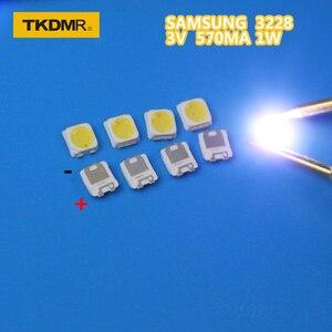 TKDMR 50PCS SAMSUNG LED Backlight TT321A 1.5W 3V 3228 2828 Cool white LCD Backlight for TV TV Application SPBWH1320S1EVC1BIB(China)