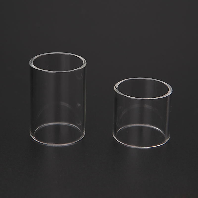 Pure Pyrex Glass Tube Replacement For Melo 3 / Melo 3 Mini Atomizer Vape E-Cigarette Tank