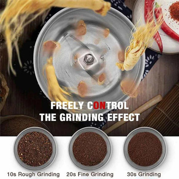Grains Spices Hebals Cereals Coffee Dry Food Grinder Mill Grinding Machine gristmill home medicine flour powder crusher image
