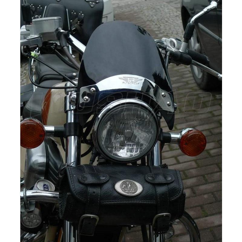 National Cycle Rear Chrome Fender Tips for 1997-2007 Honda VT750CD//VT1100C2