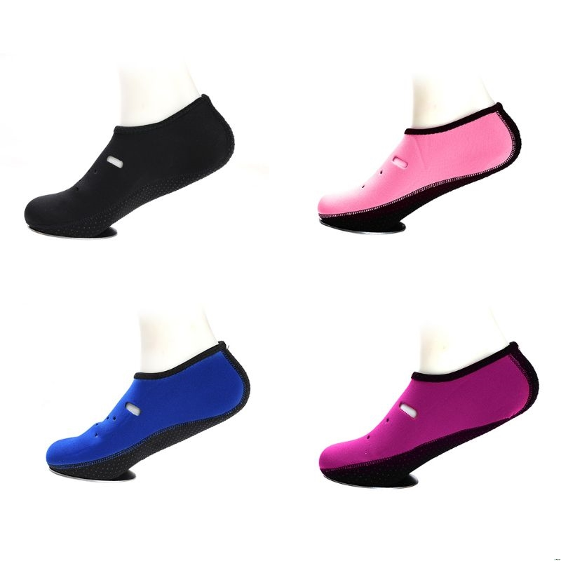 Women Men Anti-Skid Beach Water Shoes Slipper Hollow Out Holes Quick Dry Barefoot Diving Aqua Socks Snorkeling Swimming Surfing