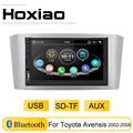 Автомагнитола 2DIN 7 дюймов для Toyota Avensis 2002 2008 2003 2004 2005 2006 2007 USB AUX SD TF Bluetooth
