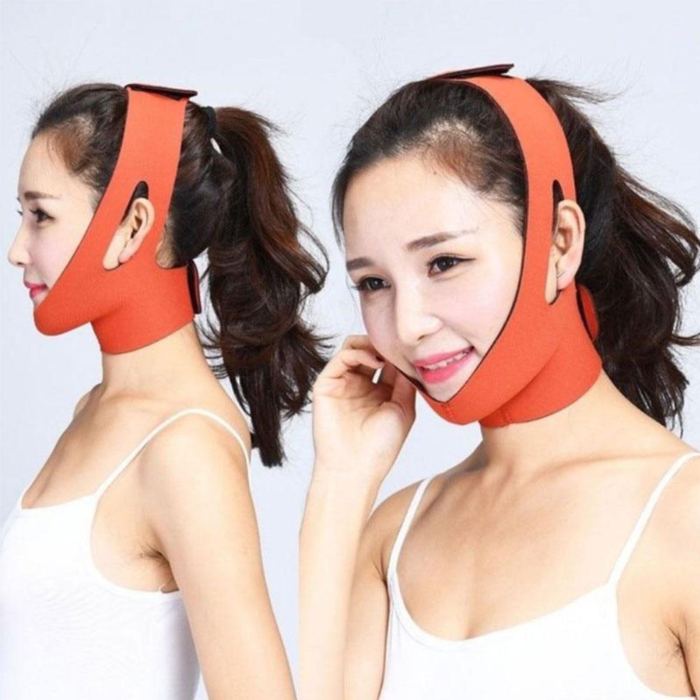 Elastic Sleep V Face Face-lift Band Slimming Bandage Shape Double Tools Chin Relaxation Thining Lift Face Reduce L5H5