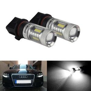 ANGRONG 2 шт. P13W PSX26W 15 SMD светодиодный фонарь дневного света для Audi A4 B8 2008 +