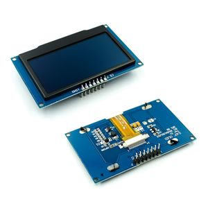 Image 5 - 0.91 0.96 1.3 1.54 2.42 אינץ IIC הסידורי לבן כחול OLED תצוגת מודול 128X64 I2C SH1106 12864 LCD עבור Arduino