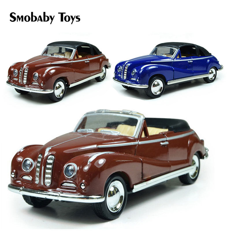 Real 1:32 Ford Alloy Diecast Cars Model Classic Alloy Vintage Car Toy Minicar Collection Model Retro Art Old Car Toys For Boys