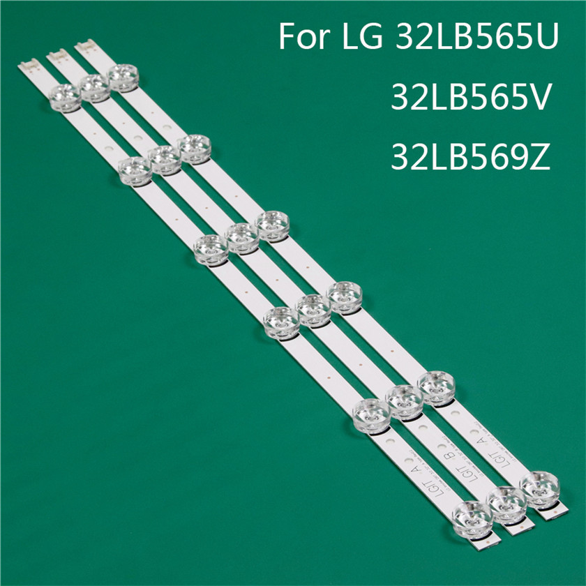 LED TV Illumination Part Replacement For LG 32LB565V-ZQ 32LB565U-ZQ 32LB569Z-TD LED Bar Backlight Strip Line Ruler DRT3.0 32 A B