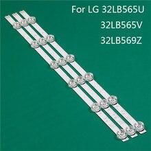 LED TV aydınlatma parçası LG için yedek parça 32LB565V ZQ 32LB565U ZQ 32LB569Z TD LED çubuk arka şerit hattı cetvel DRT3.0 32 A B
