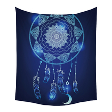 цена на Rectangle Indian Decor Mandala Tapestry Wall Hanging Hippie Throw Mat Bohemian Dorm Bedspread Table Cloth Curtain Beach Mat