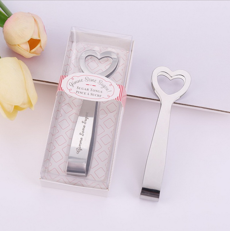 Gimme Some Sugar Stainless Steel Heart Themed Sugar Tongs Wedding Baby Shower Favors Party Favors Aliexpress