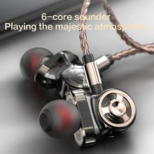 купить QKZ CK10 In-Ear Stereo Sound Wired Earphones Sports Music Headphones with Mic hot sale дешево