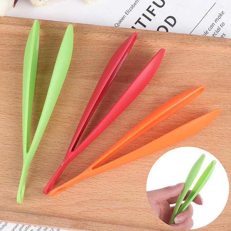 3 Màu 14.7*1.8 Cm Nhựa Thực Phẩm Lưỡi Dính Thịt Nướng Kẹp Thức Ăn Salad Tông Dụng Cụ Nhà Bếp Tiện Dụng phụ Kiện