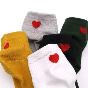 Image 5 - 3pair 밝은 색상 여성 여자 발목 양말 짧은 가을 겨울 따뜻한 양말 캐주얼 부드러운 면화 편안한 여성 양말 여성을위한