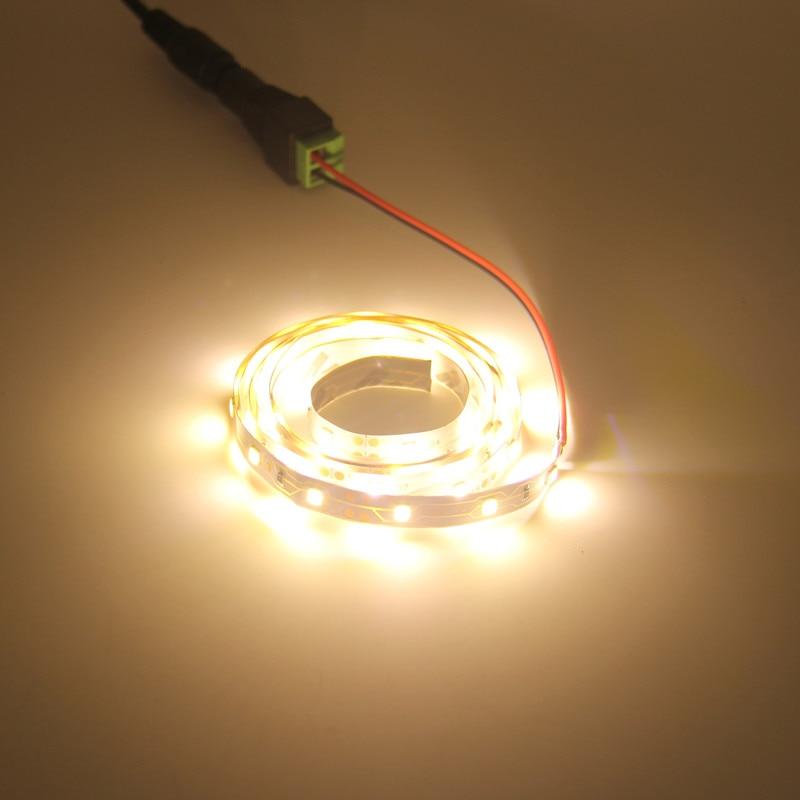 Image 5 - 5m conjunto 2835smd led strip neon led corda luz fita cor  vermelho verde azul branco quente 12v 60leds/mTiras de LED   -