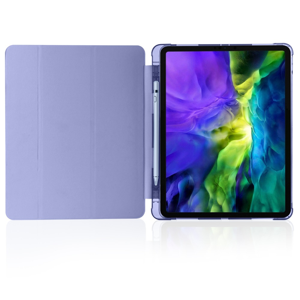 with 9 Cover 2020 Pencil iPad iPad 2018 TPU Shell 12 Apple Holder Pro Case Soft for For