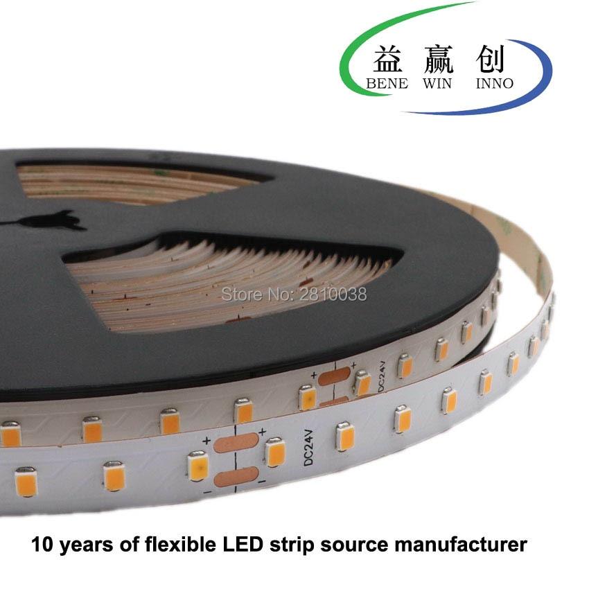 120 M/Lot 10mm large courant constant construit IC a mené la lumière de bande de CC 36V SMD2835 bande led flexible 10.8 W/M CC lumière led bande 90leds/M