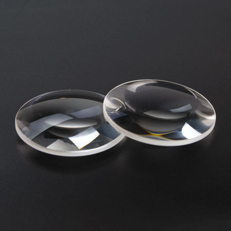 2 pezzi 42 diametro K9 vetro ottico lunghezza focale 65mm doppia - Strumenti di misura - Fotografia 2