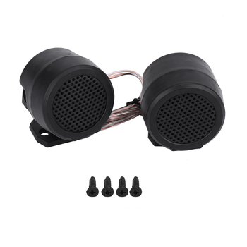2Pcs 12V 500W Car Round Super Power Loud Audio Speaker Tweeter Loudspeaker For All Car Audio Systems With 12V DC Power Supply image