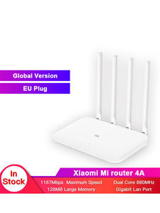 Xiaomi Router Repeat Gigabit-Edition Wifi 5ghz 4-Antenna Global-Version High-Gain DDR3