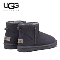 UGG Boots 5854 Ugged Women Boots Snow Shoes Fur Warm Winter Boots Women's Classic Short Sheepskin Snow Boot UGG With Fur