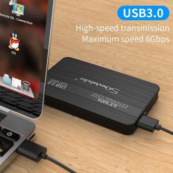 외장형 하드 드라이브 2.5 휴대용 하드 드라이브 HD Externo 1 테라바이트 2 테라바이트 USB3.0 스토리지,