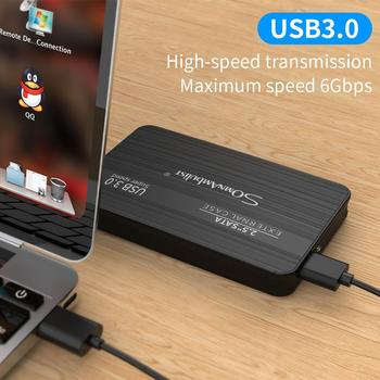 Zewnętrzny dysk twardy 2 5 przenośny dysk twardy HD Externo 1 TB 2 TB USB3 0 storage tanie i dobre opinie SomnAmbuList Rohs CN (pochodzenie) USB 3 0 6 Gb s 2 5 5400 rpm YD16 Metalowe i Plastikowe