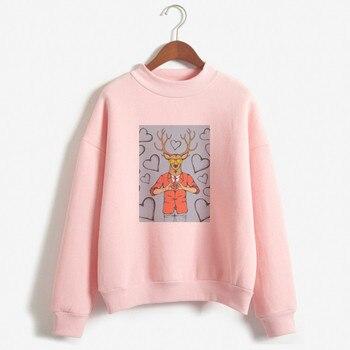 Sweater à capuche imprimé personnalisé Femmes À Capuche Simple All-Match Loisirs Surdimensionné Pulls Ins Style Kawaii Femmes Lâche Vêtements À La Mode