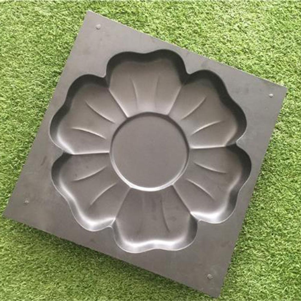 cheapest Road Concrete Molds Path Maker Pavement Mold Garden Walk Pavement Mold DIY Manually Paving Cement Brick Stone