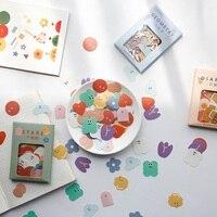 100 unids/pack Kawaii lindo colorido pegatinas Super Multi sellado pegatinas estudiante hecho a mano Material de la Oficina de la escuela herramienta de decoración de