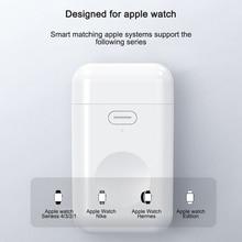 Cargador inalámbrico Qi para Apple Watch 4, 3, 2, 1, Serie I, base de carga inalámbrica rápida portátil, cargador magnético para IWatch