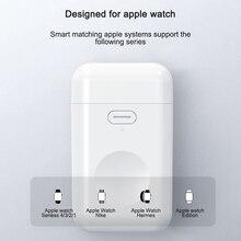 Carregador sem fio portátil para iWatch Qi, plataforma magnética de carregamento rápido sem fio para Apple Watch 4 3 2 1 I