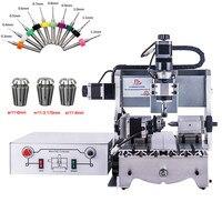 PCB Milling Machine CNC 3020 cnc Wood Carving rotuer Mini Engraver mach3 control