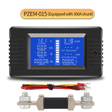 PZEM015 DC 200V 300A Voltmeter Amperemeter Auto Batterie Tester Kapazität widerstand strom Spannung Meter monitor 12v 24v 48v 96v