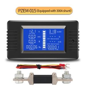 Image 1 - PZEM015 DC 200V 300A Voltmeter Amperemeter Auto Batterie Tester Kapazität widerstand strom Spannung Meter monitor 12v 24v 48v 96v