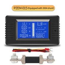 PZEM015 DC 200V 300A Вольтметр Амперметр автомобильный тестер батареи сопротивление емкости Измеритель напряжения электроэнергии 12v 24v 48v 96v