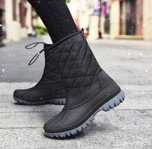 Новые стильные зимние ботинки с круглым носком на меху оптовая