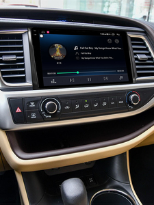 """Image 2 - 10.1 """"unità principale Stereo per autoradio Android 10 1280*800 navigazione GPS Carplay 4G per lettore multimediale Toyota Highlander 2014 2018"""