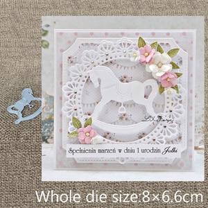 Image 1 - New Design Craft Metal Cutting Die cut die lovely baby Trojan toy scrapbooking Album Paper Card Craft Embossing die cuts