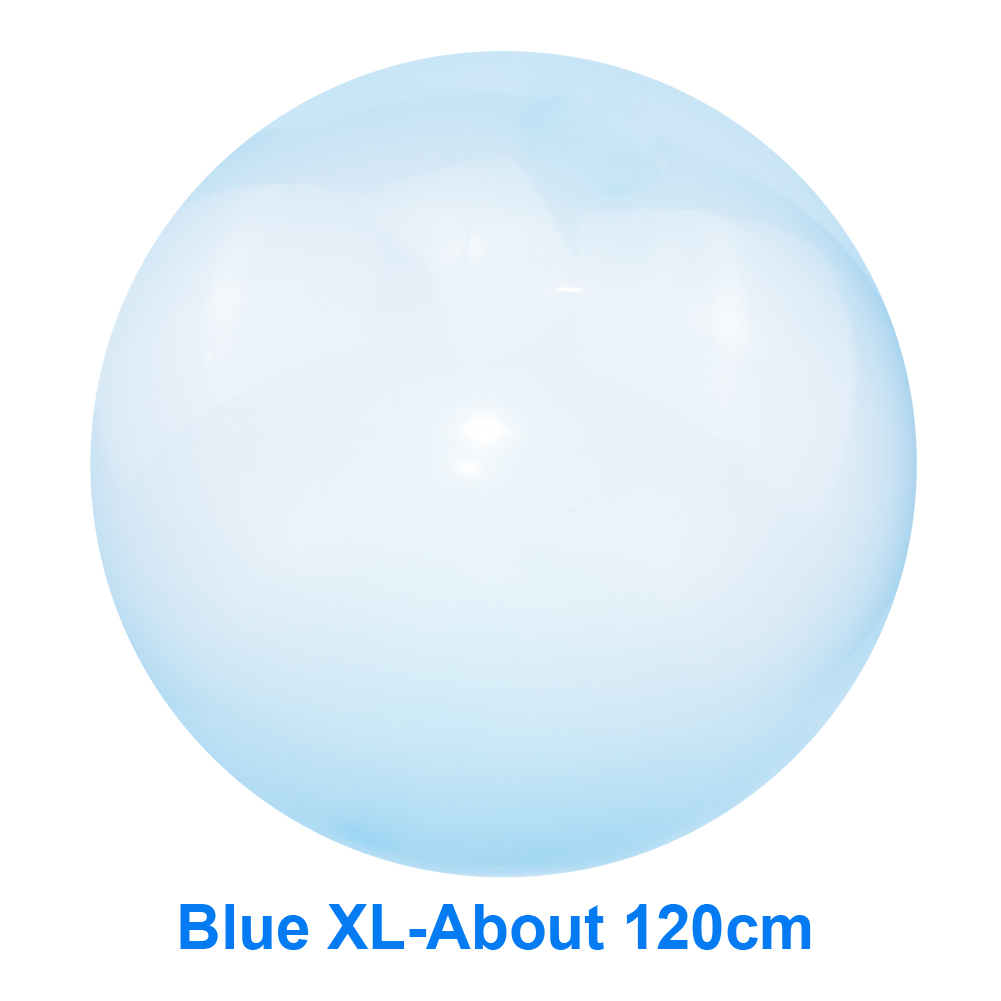120cm Summer Outdoor Soft Air Water Filled Bubble Ball Blow Up Balloon Toy Fun Party Game Gift For Kids Children Inflatable Toys
